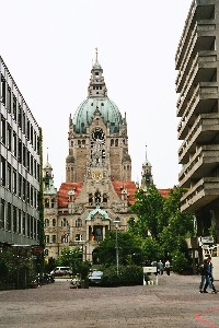 Hannovers neues Rathaus