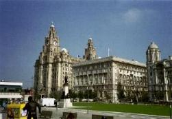 Royal Liver Building und Cunard Building