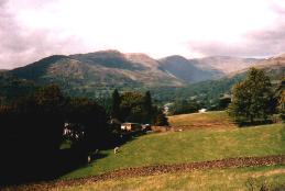 Bergpanorama im Lake District