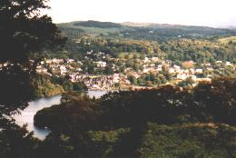 Blick auf Bowness on Windermere